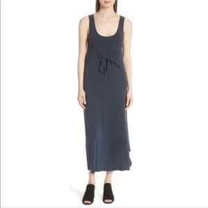 NWT Medium Vince Sleeveless Tie Front Maxi Dress